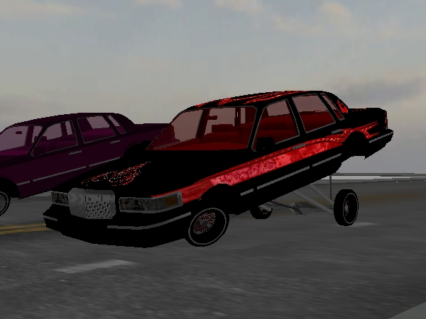 BLACK WIDOW Town Car screenshot 1