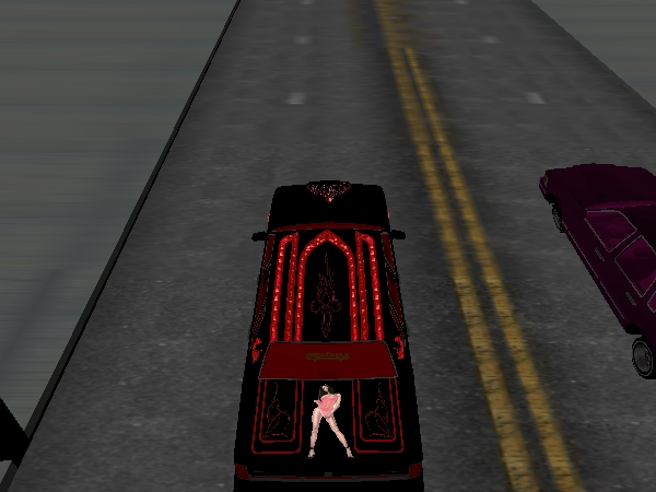 BLACK WIDOW Town Car screenshot 2