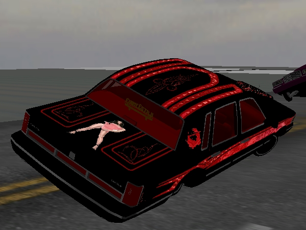 BLACK WIDOW Town Car screenshot 3