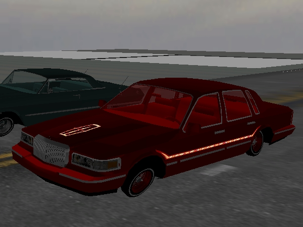 BLOODY NIGHTMARE Town Car screenshot 1