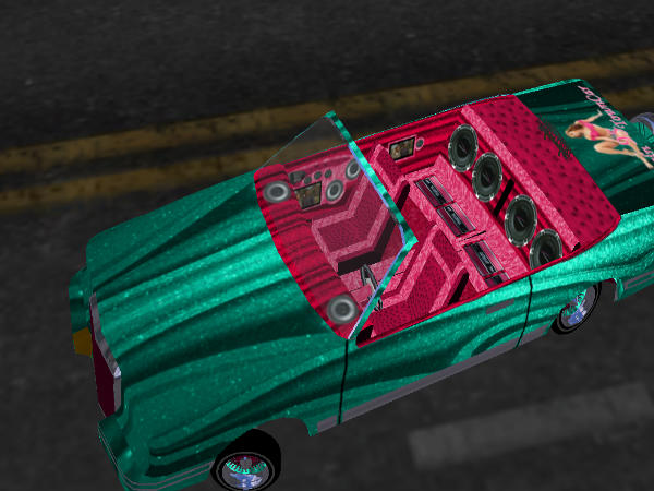Pink Panther Town Car screenshot 2
