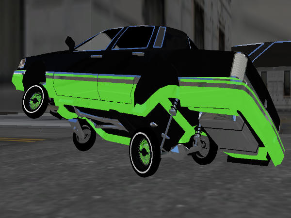 Playing With Death Town Car screenshot 2