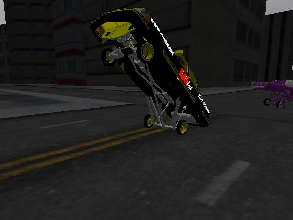 Hilow gold Town Car screenshot 1