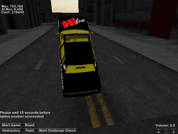 Hilow gold Town Car screenshot 2