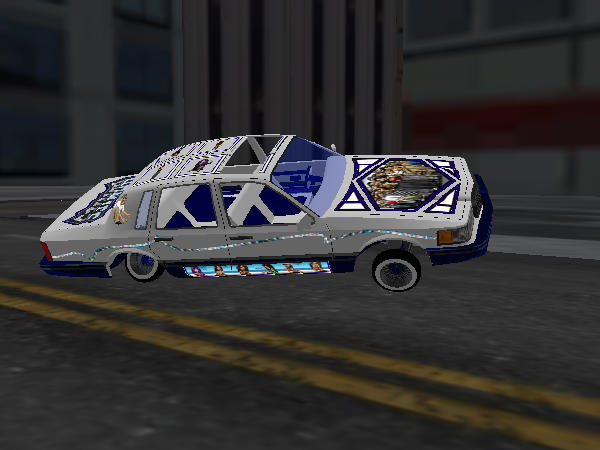 Homie Rollerz Town Car screenshot 1