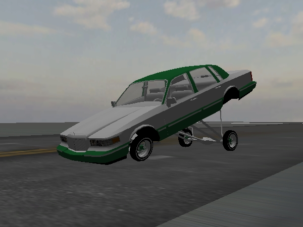 unnamed Town Car screenshot 1