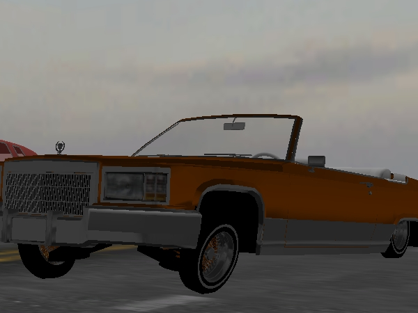 Orange Krush Cadillac screenshot 1