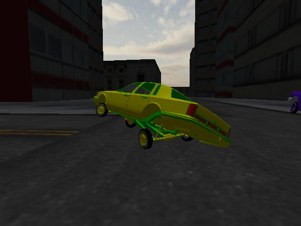 Sticky Situation  Town Car screenshot 2