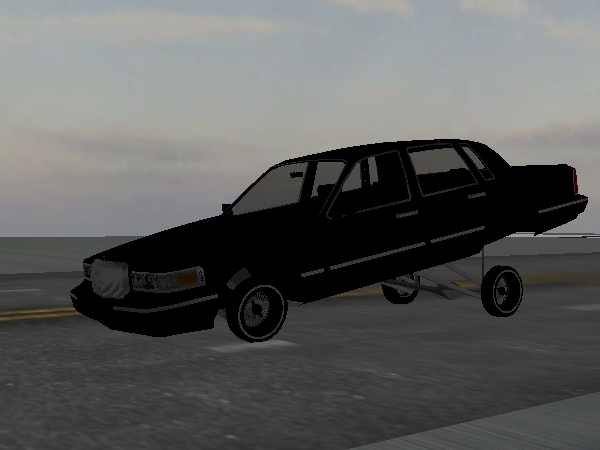 UR NIGHTMARE Town Car screenshot 1