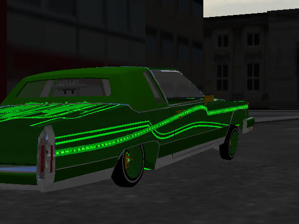 green baret Cadillac screenshot 1