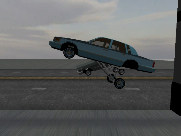 pull up Town Car screenshot 2