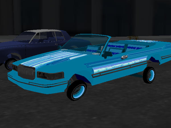 The Lowrider Game - waka flocka custom CRYSTAL BLUE ...