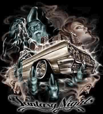 Lowrider Car Art
